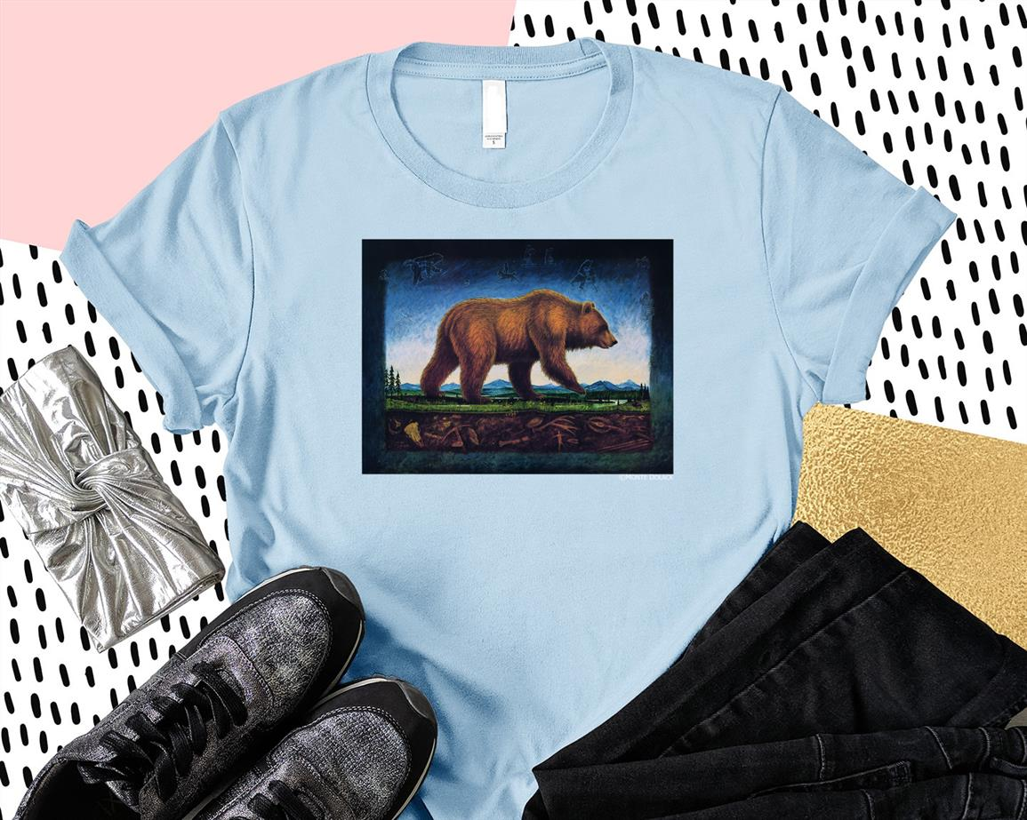 Monte Dolack Great Bear T-shirt-Art
